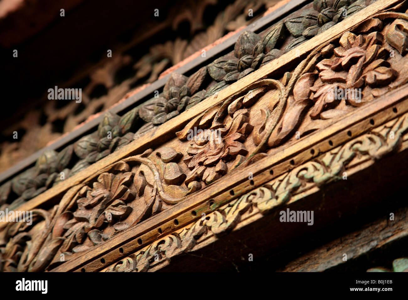 Decorative asian wood have found