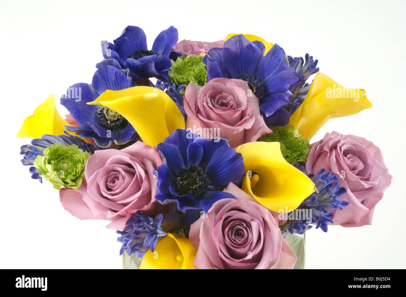 Welcome flowers bouquet stock photos welcome flowers bouquet stock a bouquet of pretty flowers stock image izmirmasajfo