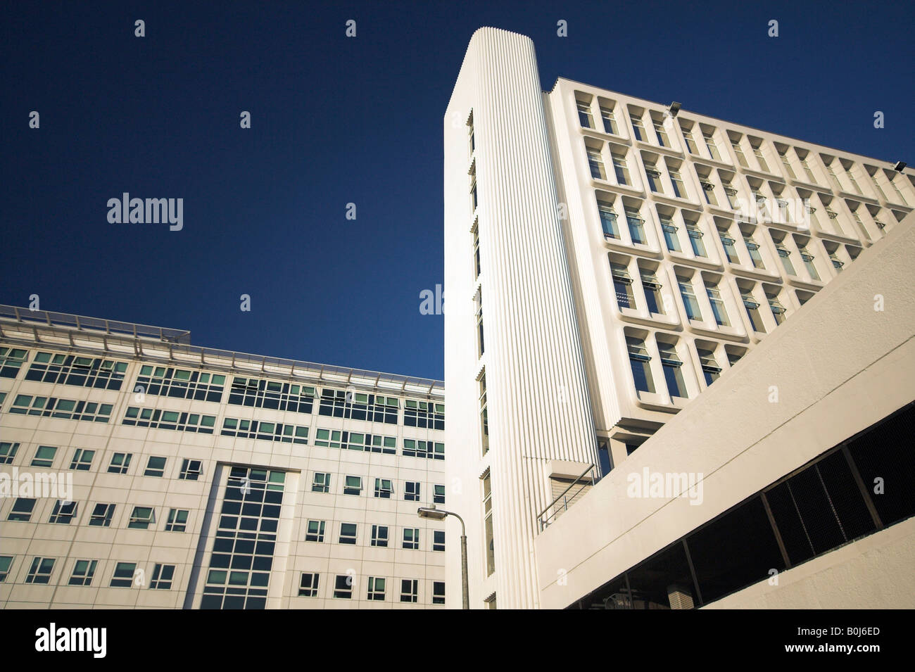 Riverside offices, Bruntwood, Trinity Bridge House, Inland Revenue building, Salford, Manchester, UK - Stock Image