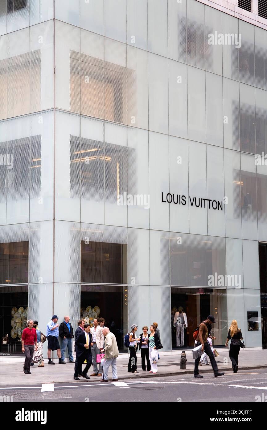 dc46be5e2d70 Louis Vuitton store on 5th Avenue Midtown Manhattan New York City New York  USA