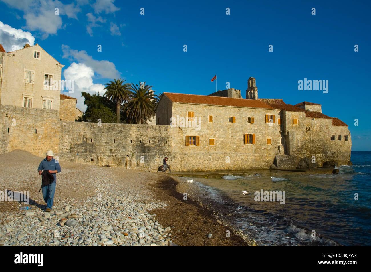 Budva Montenegro Europe Stock Photo