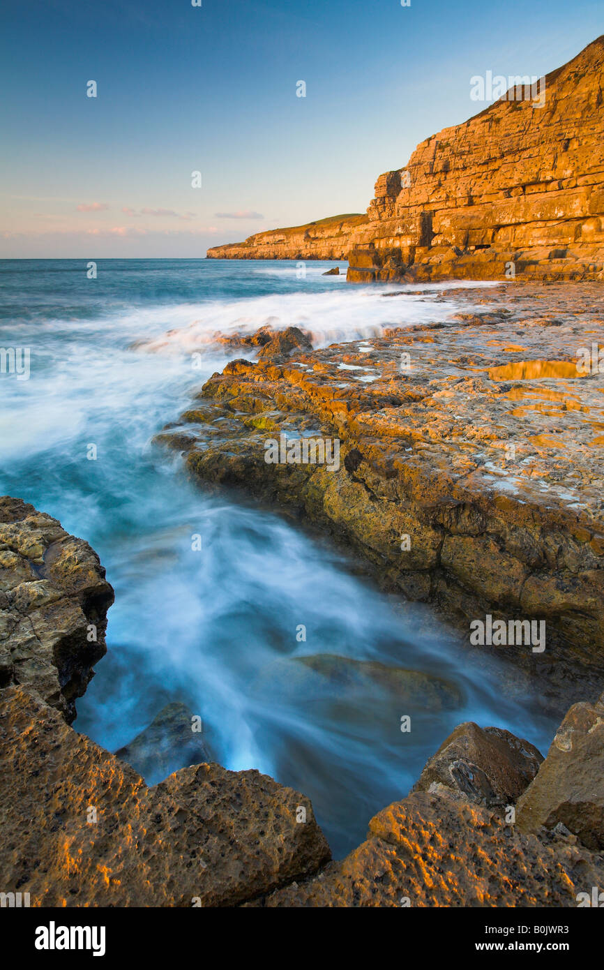 Seacombe on the Isle of Purbeck Dorset England - Stock Image
