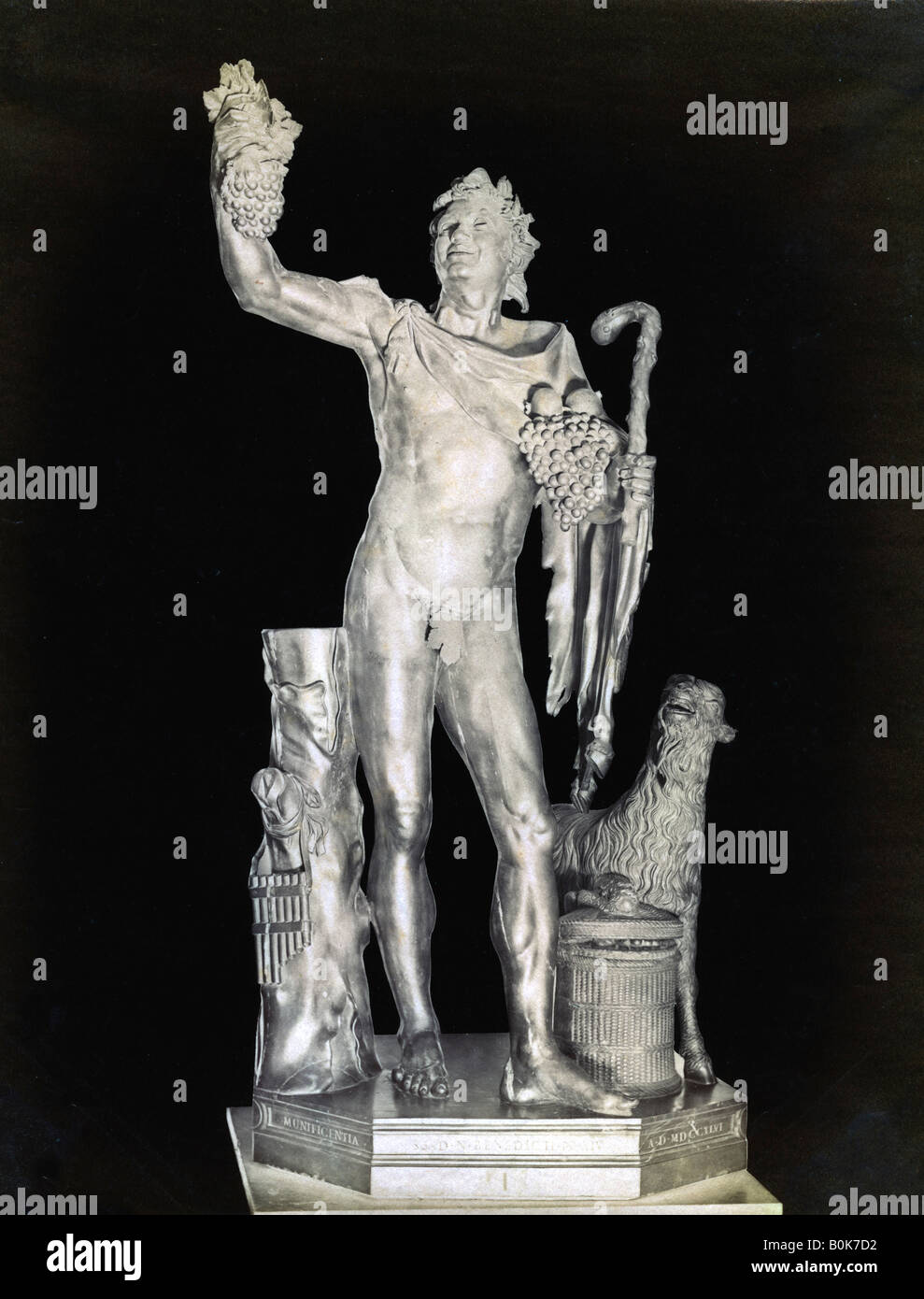 The Laughing Faun, 2nd century BC. - Stock Image