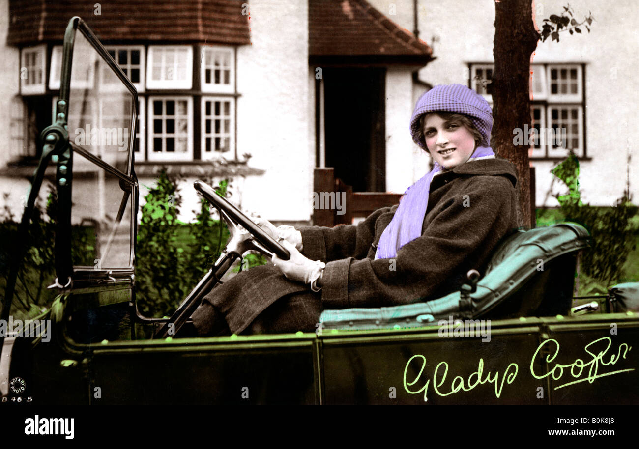Gladys Cooper (1888-1971), English actress, early 20th Stock