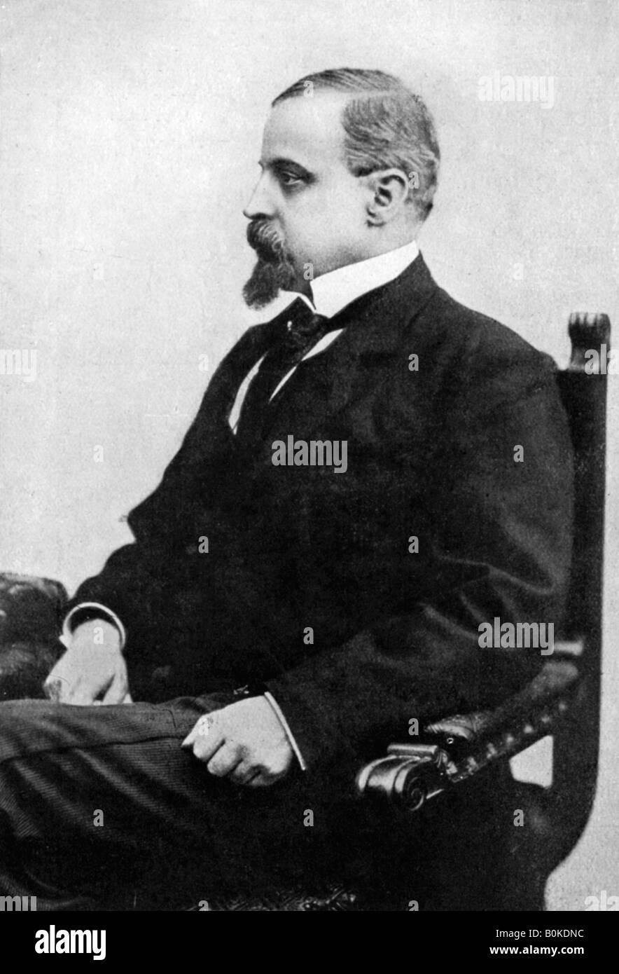 Henryk Sienkiewicz, Polish novelist and publicist, late 19th century, (c1920). - Stock Image