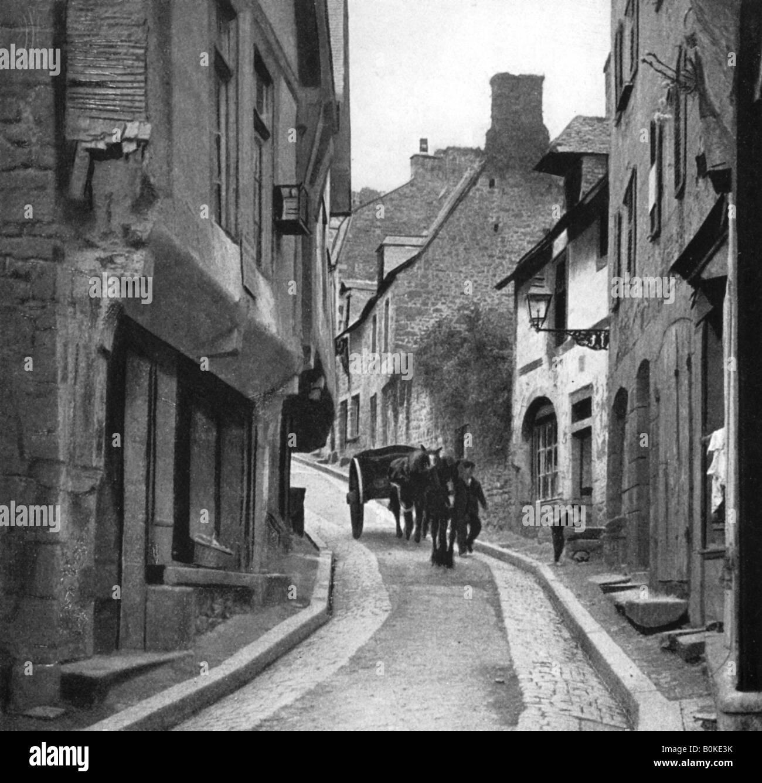 Rue Jersual, 1911-1912. Artist: HW Fincham - Stock Image