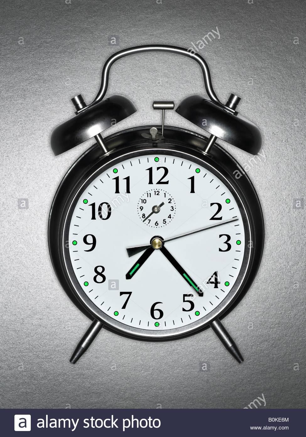An alarm clock - Stock Image