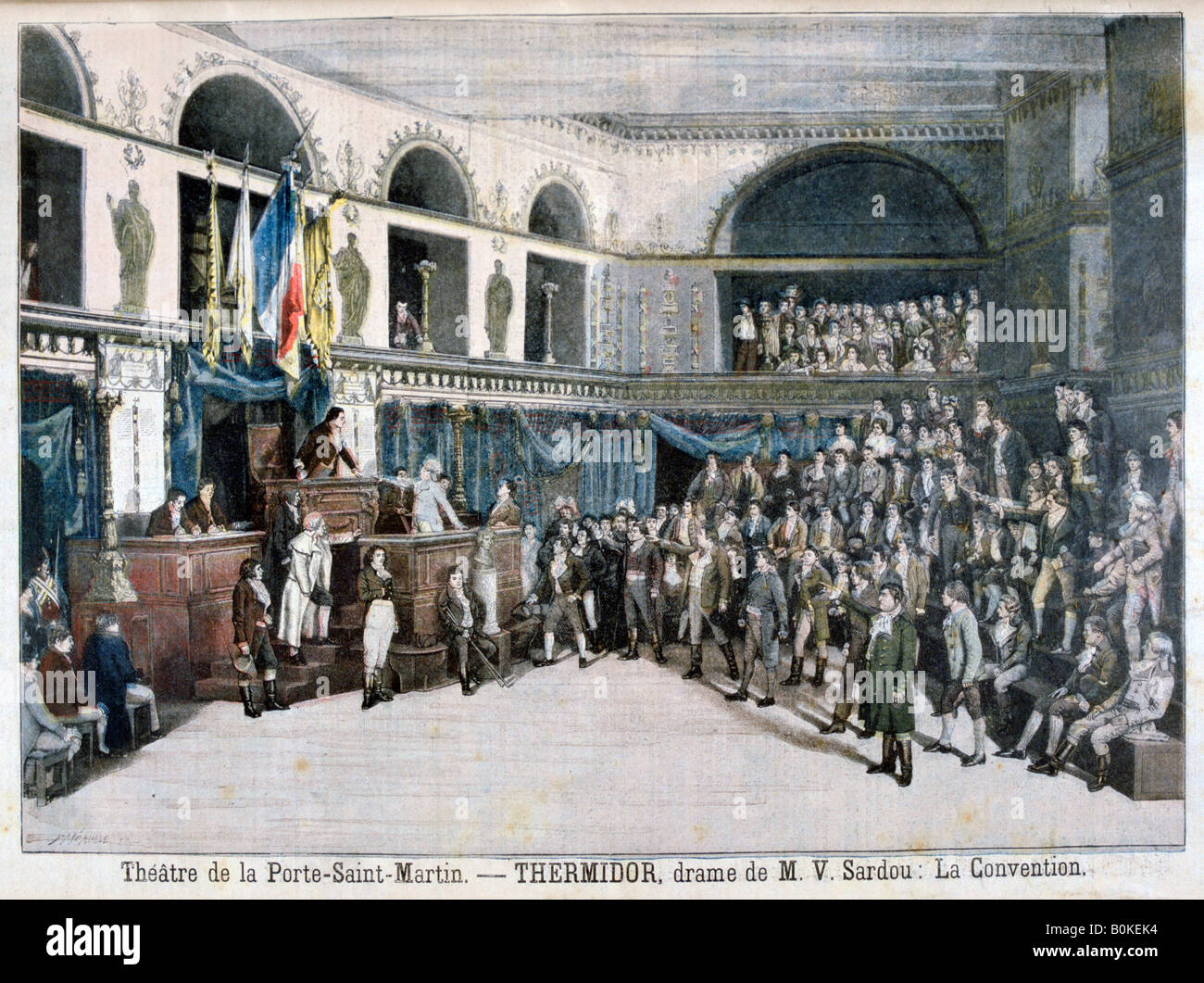 Scene from theatre performance stock photos scene from - Theatre de la porte saint martin 75010 paris ...