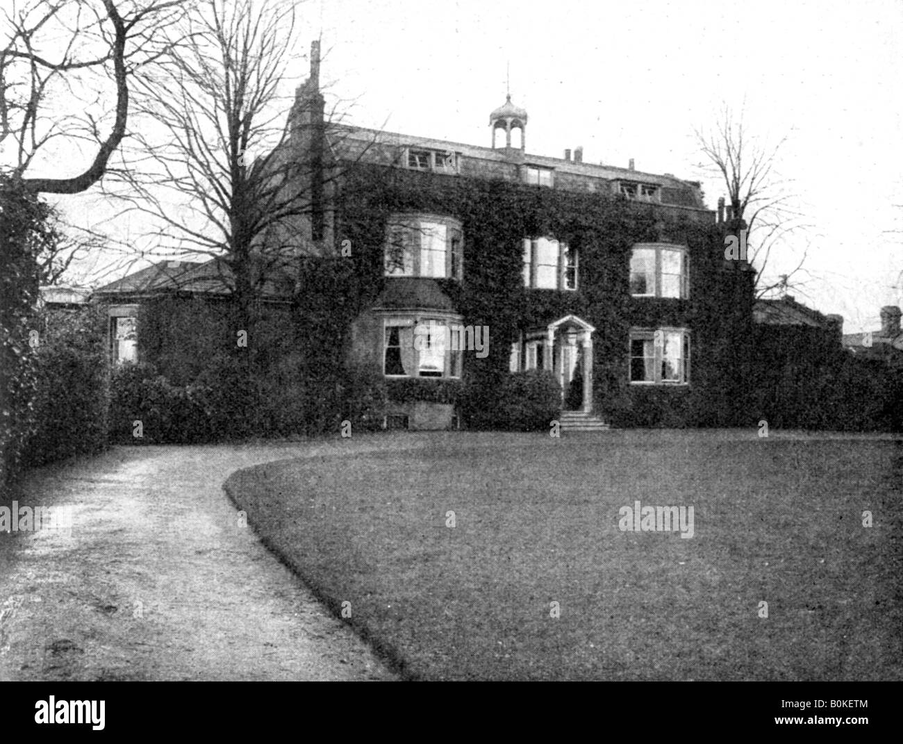 Gadshill, Near Rochester, Purchased by Dickens in 1856, (1923).Artist: Rischgitz Collection Stock Photo