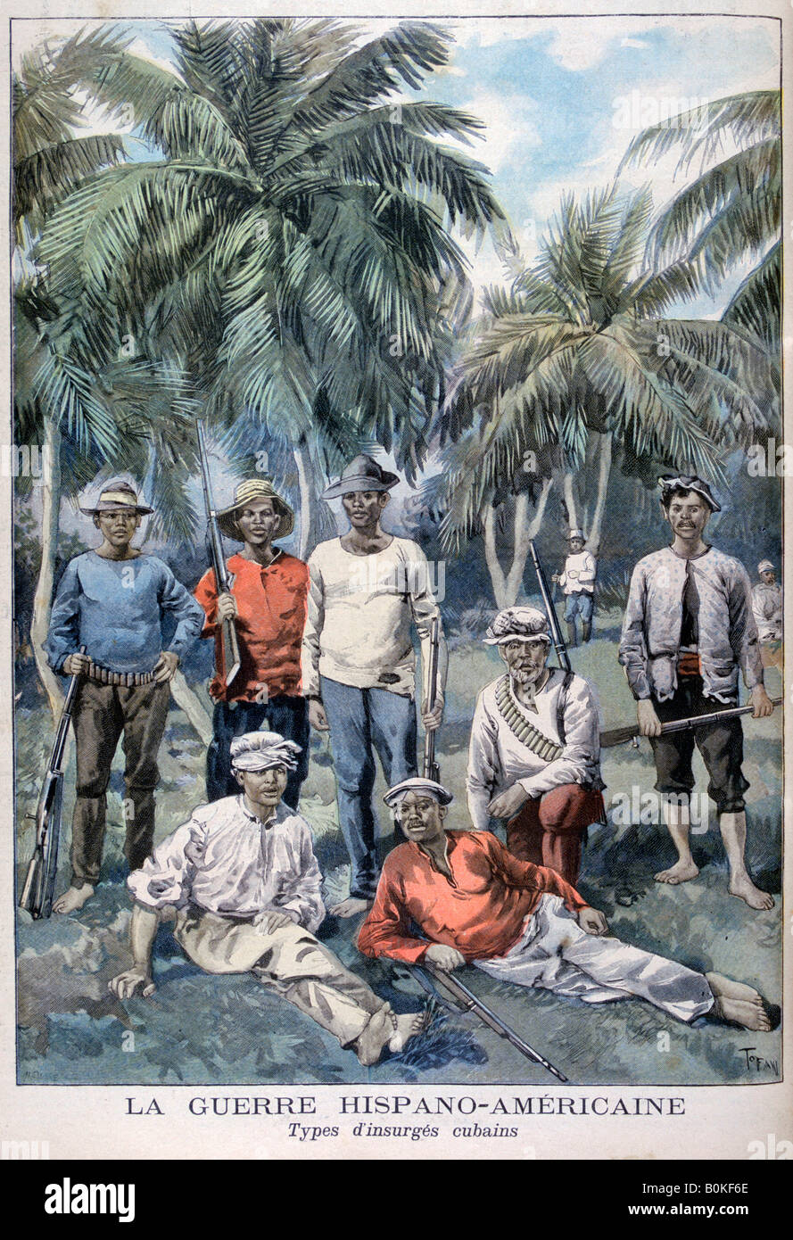 cuban rebellion the spanish american war Fought in 1898, the spanish-american war saw the us win a quick victory following the successful invasions of the philippines, puerto rico and cuba.