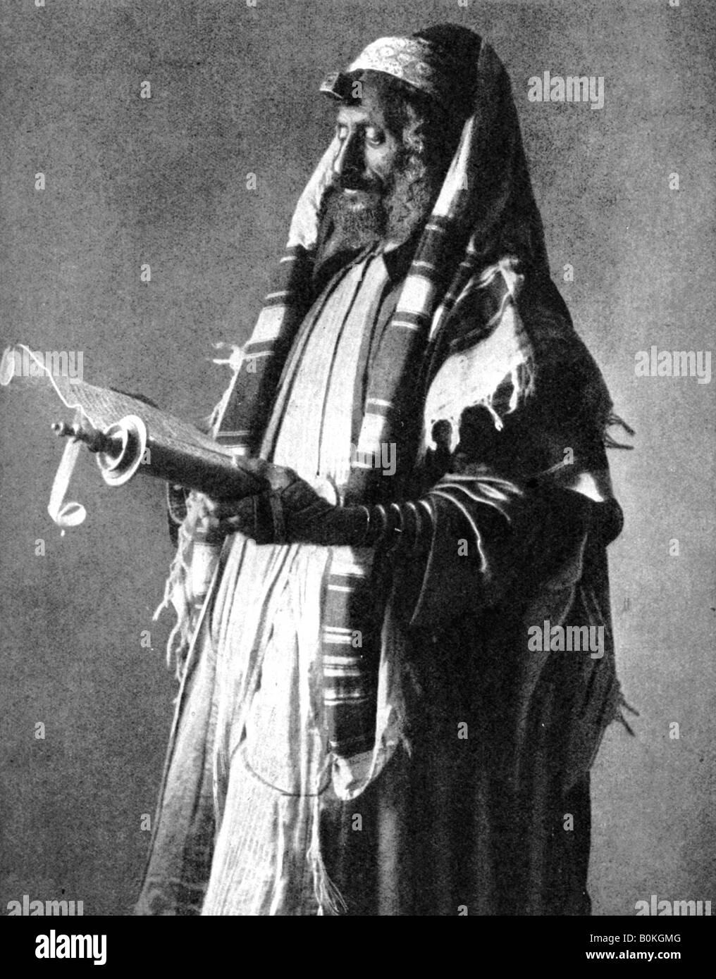 Yemeni orthodox Jew, 1914 (1936). Artist: Donald McLeish - Stock Image