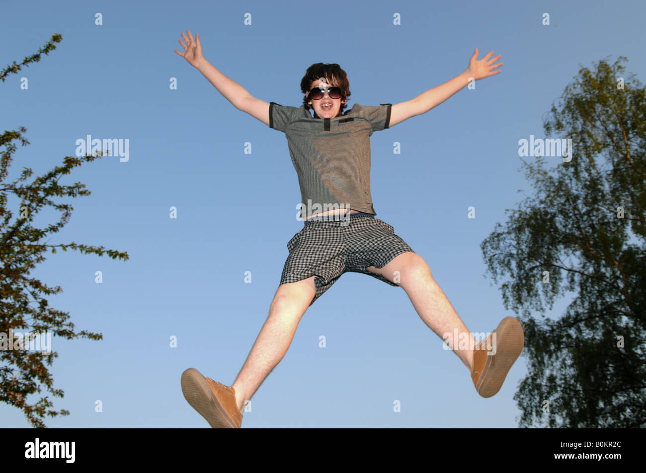 Star Jump - Stock Image