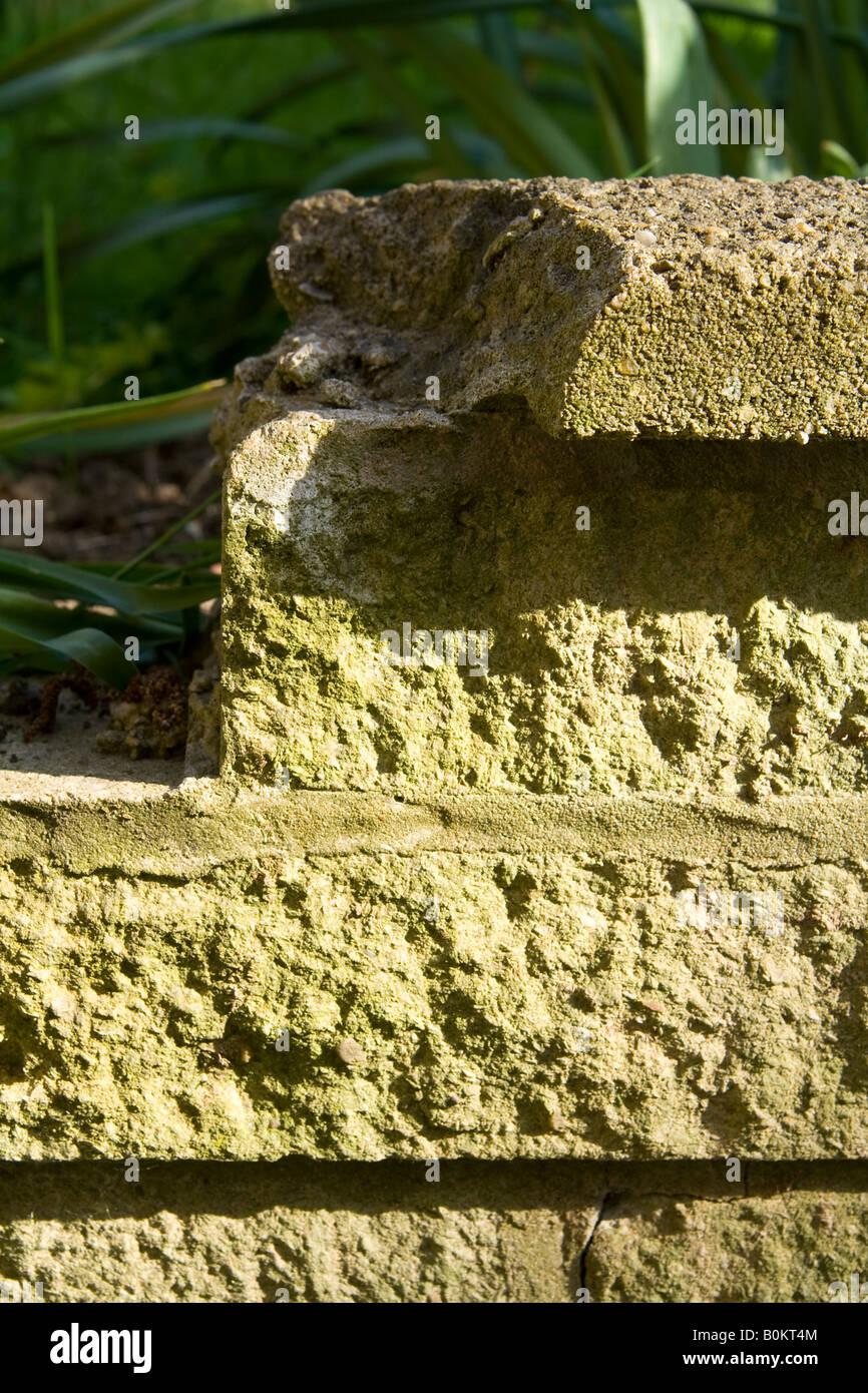 Damaged ^garden Wall Stock Photos & Damaged ^garden Wall Stock ...