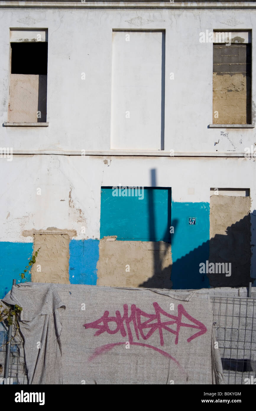 periphery, leaved house, el saler, - Stock Image