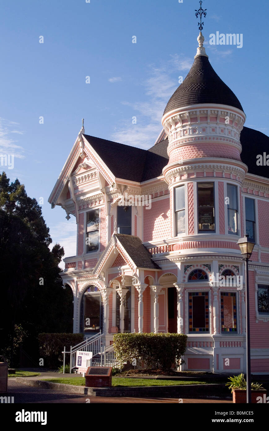 The Carson Mansion House, Eureka, California, USA. - Stock Image