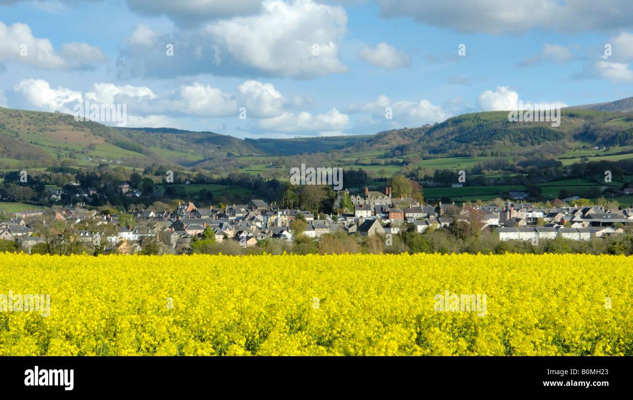 Hay on Wye - Stock Image