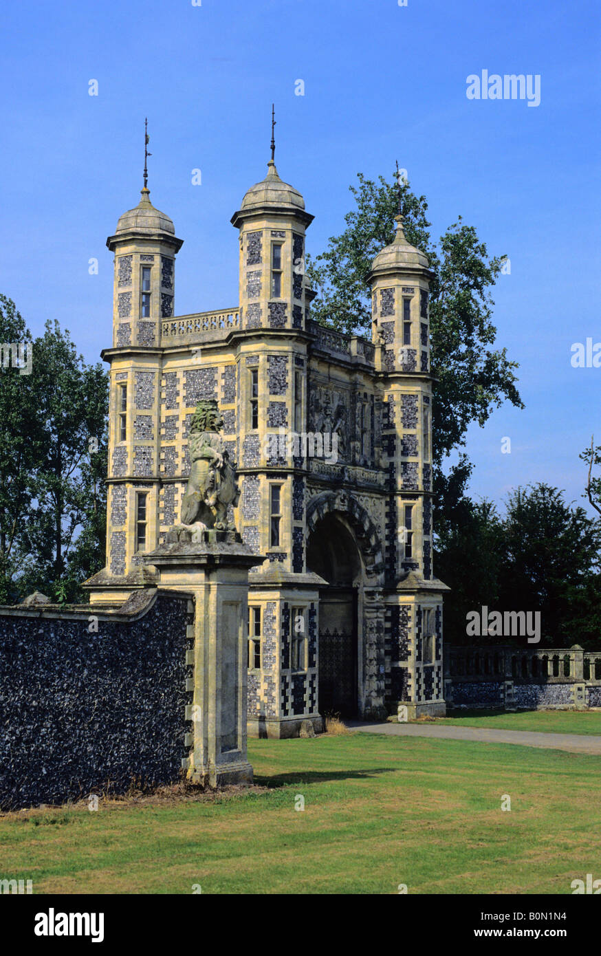 Eastwell Towers Gatehouse  Ashford  Kent  England  Uk