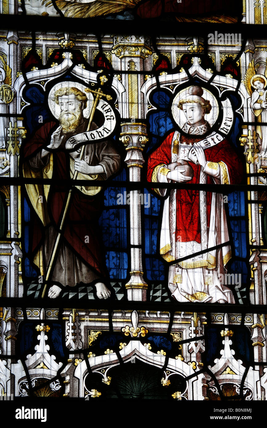 Woodbastwick St Fabian St Sebastian - Stock Image