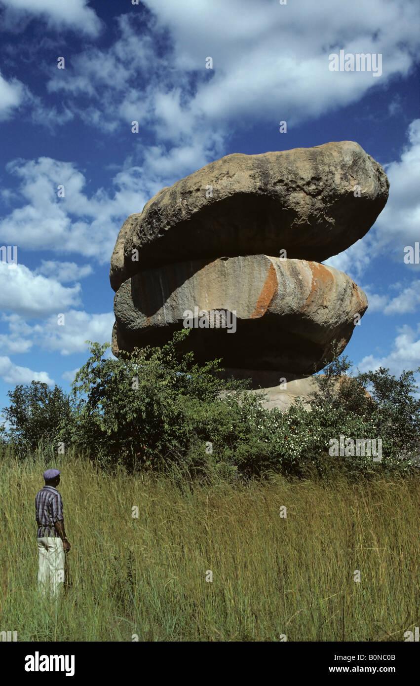 Balancing Rocks Zimbabwe Stock Photos Amp Balancing Rocks