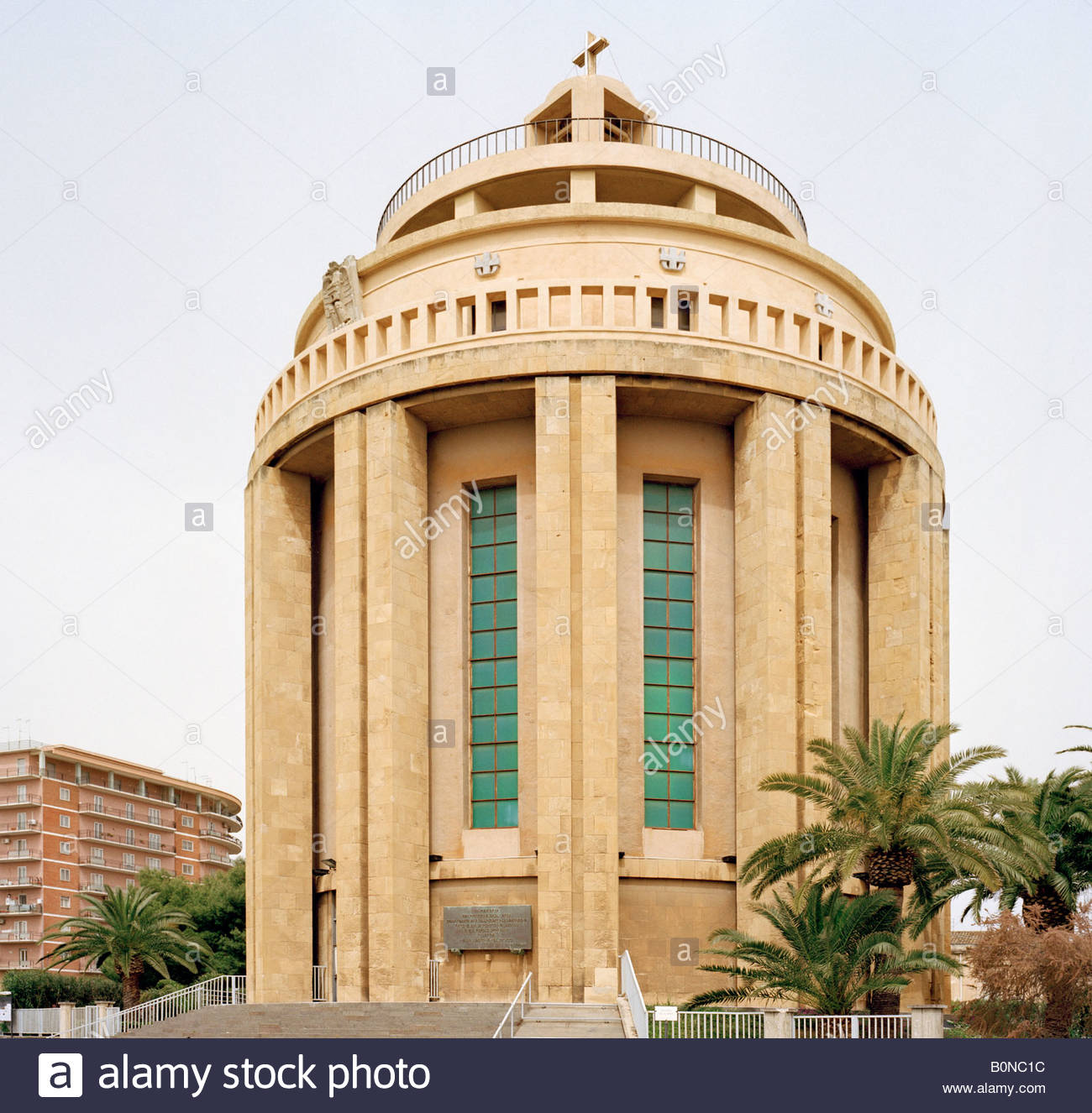 The Pantheon, Siracusa or Syracuse Sicily Italy EU. - Stock Image