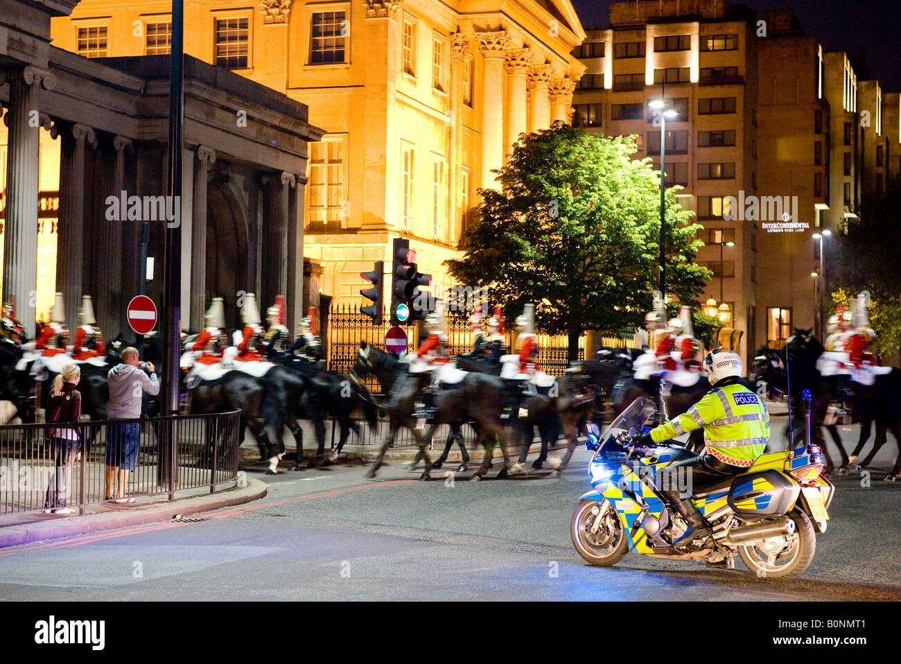 Queens Royal Houseguards Lifeguards Cavalry Hyde Park Corner London U K Europe Stock Photo