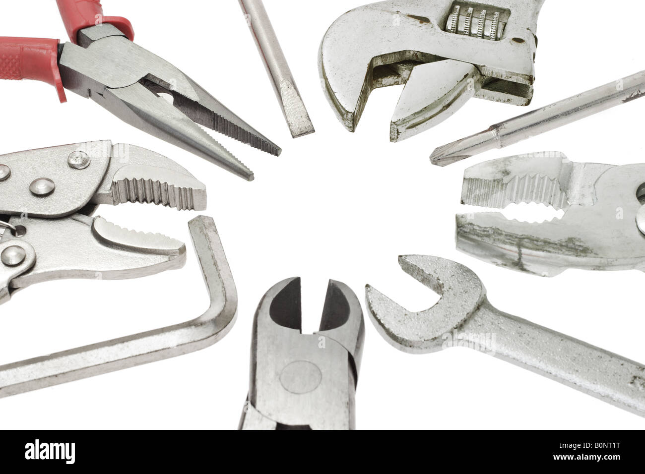 Do it yourself tools on white background stock photo 17690228 alamy do it yourself tools on white background solutioingenieria Gallery