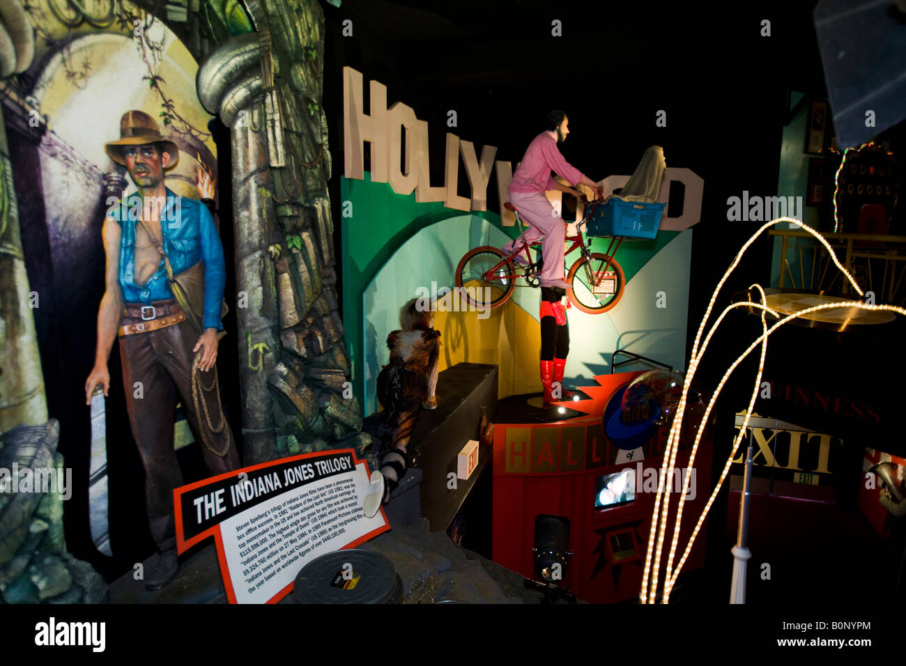Hollywood Guinness World of Records Museum Los Angeles California United States of America - Stock Image