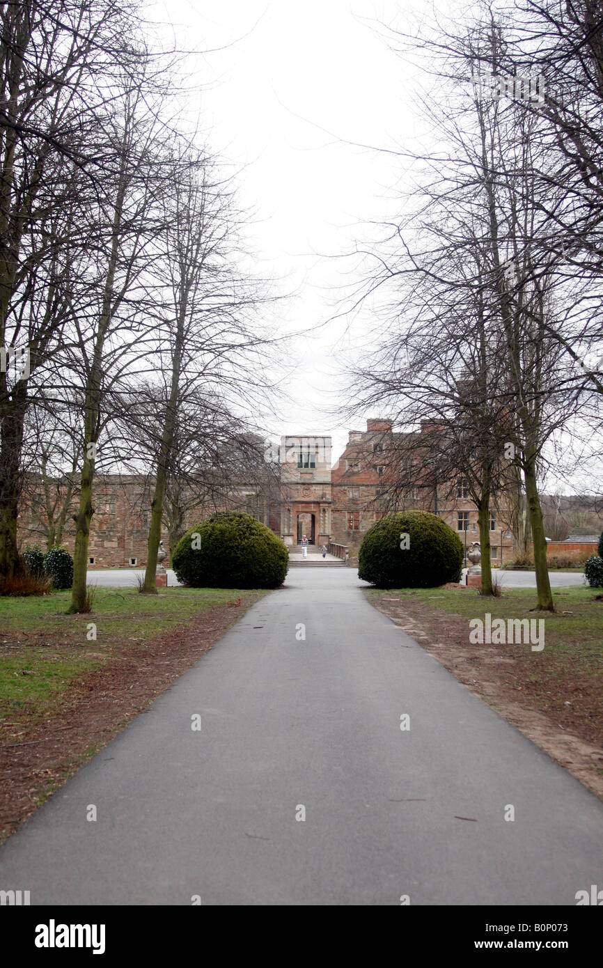 26th March 2008 Rufford Abbey and Country Park Nottinghamshire UK - Stock Image