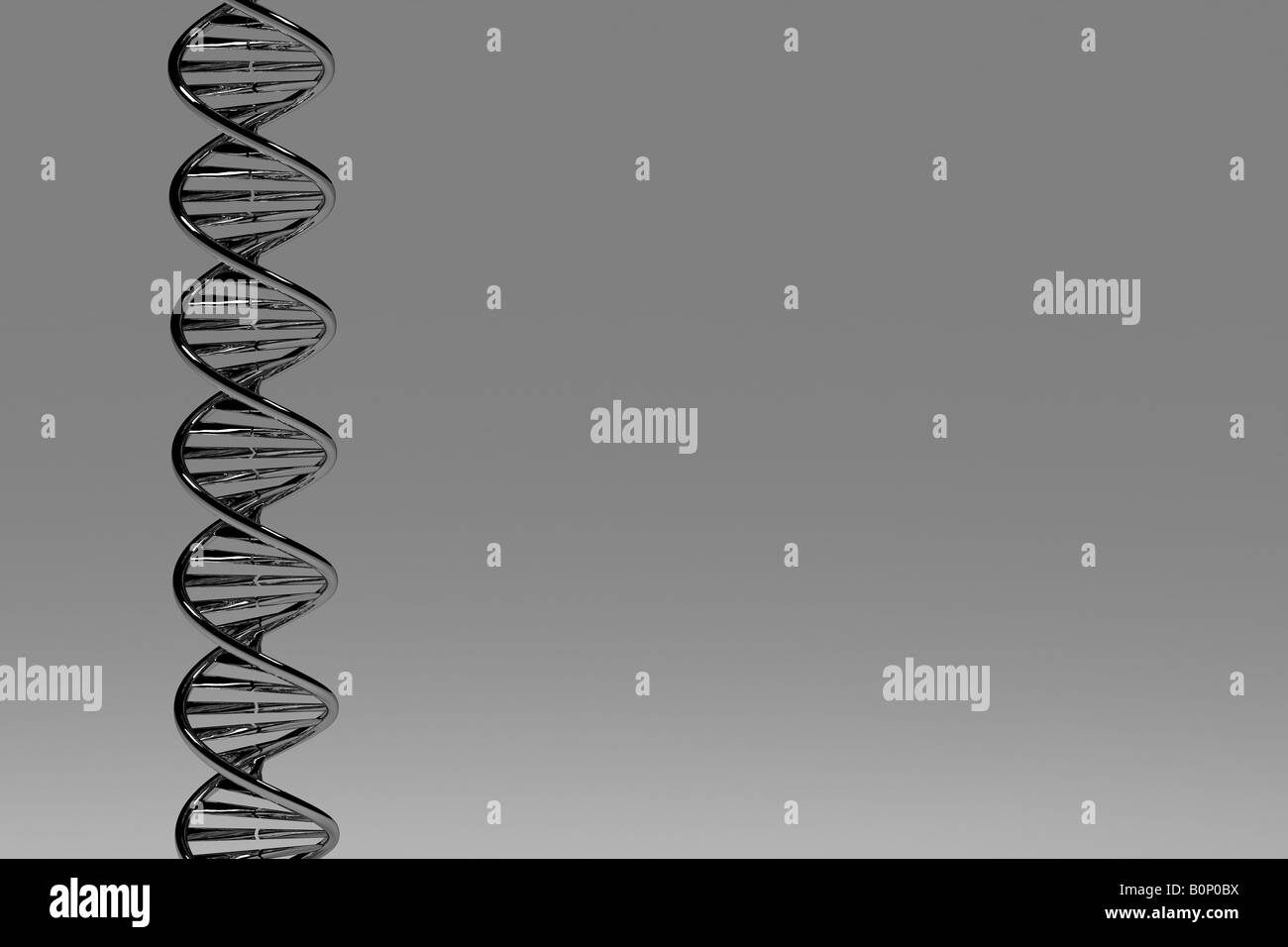Silver DNA - Stock Image