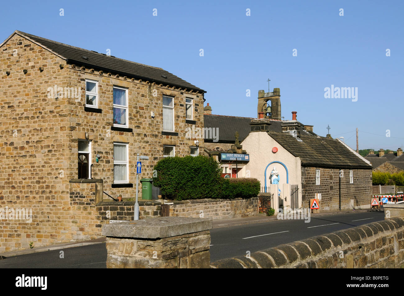 The old Catholic Church built in 1905 on Low Lane Birstall West Yorkshire - Stock Image