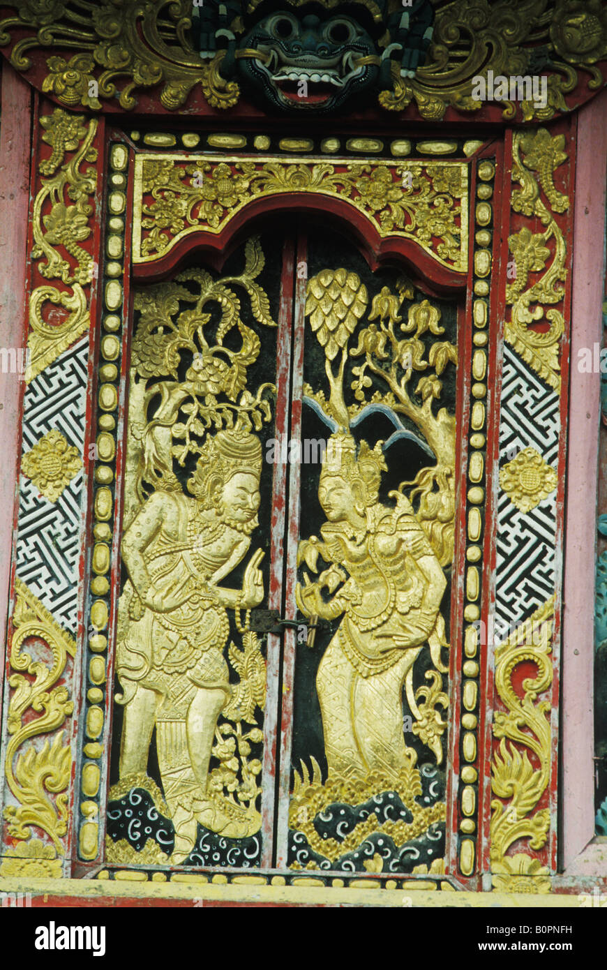 Carved Door In Bali Stock Photos & Carved Door In Bali Stock Images ...