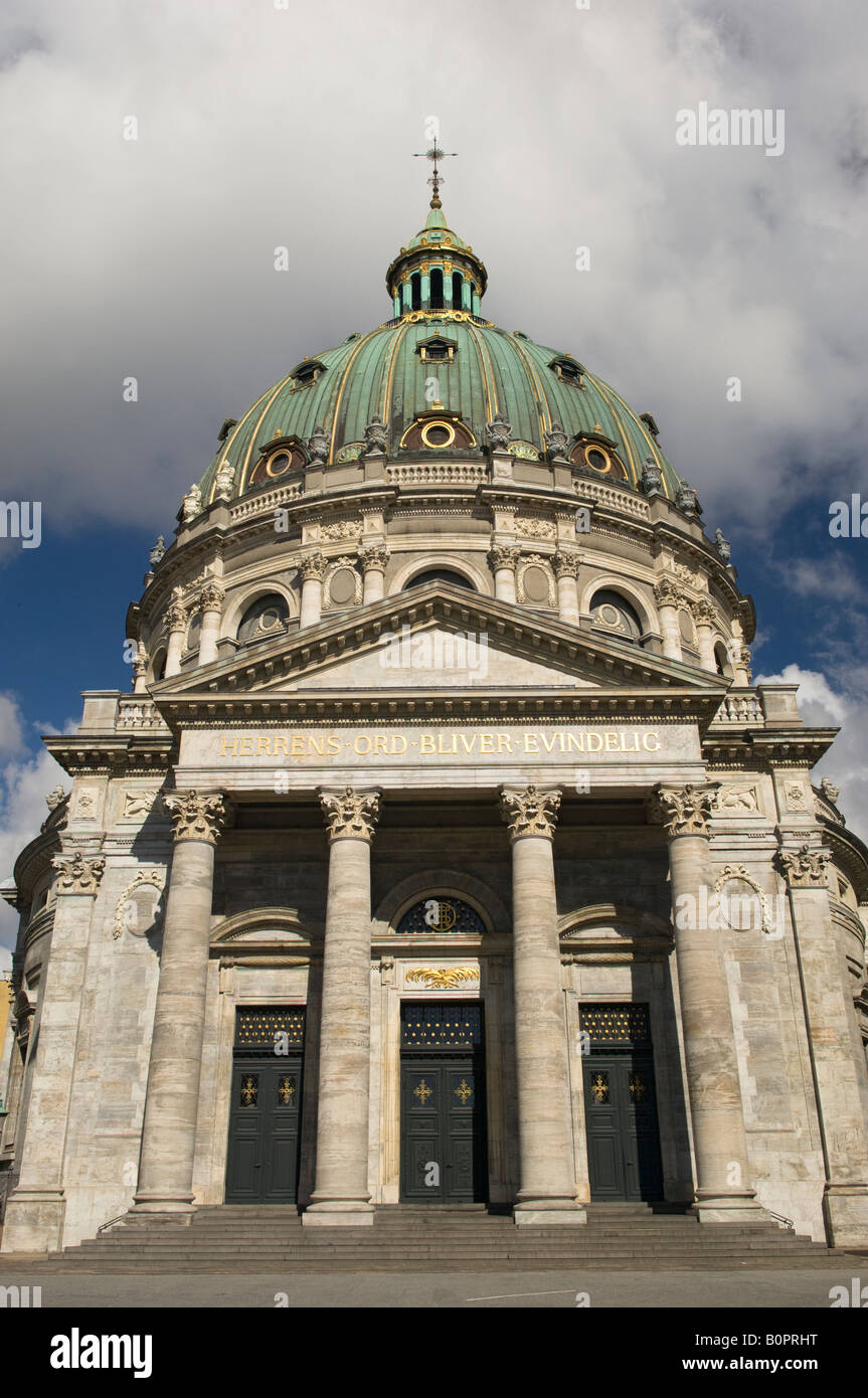 Marmorkirken, Frederiks Church or Marble Church - Stock Image