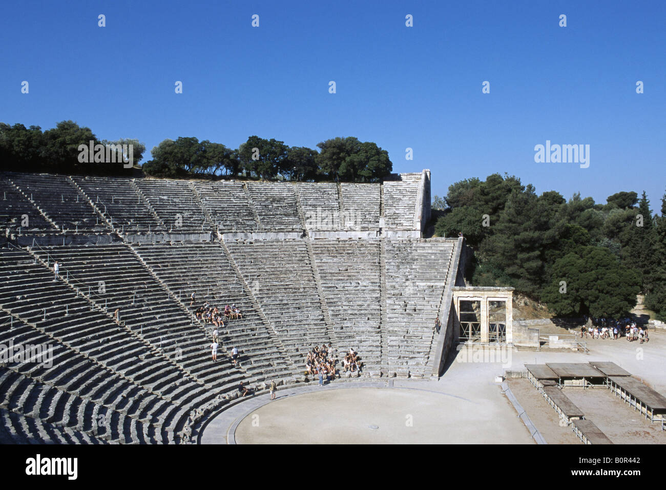 Epidauros Peloponnes Griechenland - Stock Image