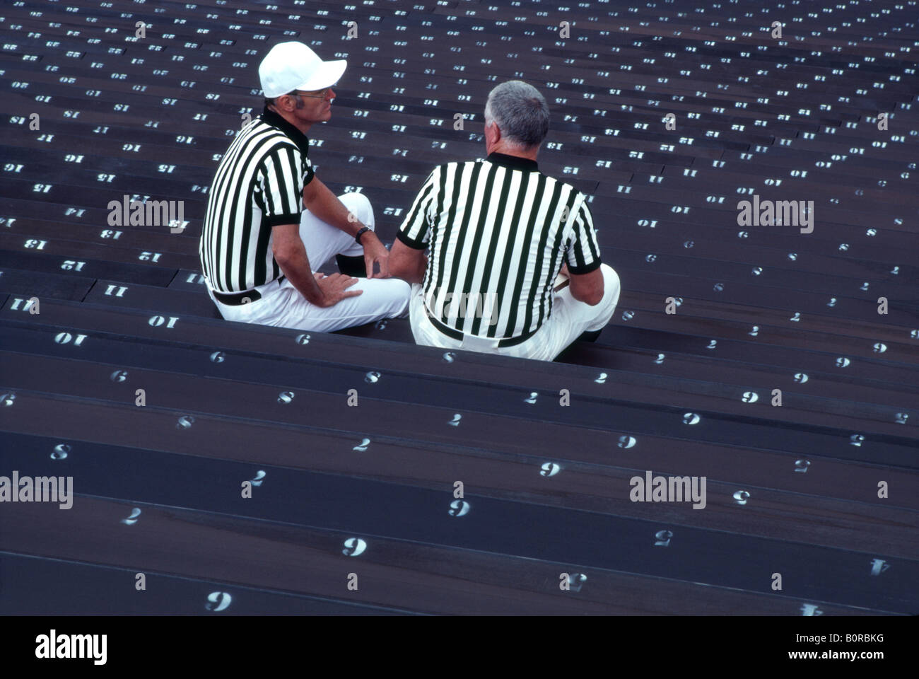 Referees at 'Dartmouth College' in 'Hanover NH'. USA - Stock Image