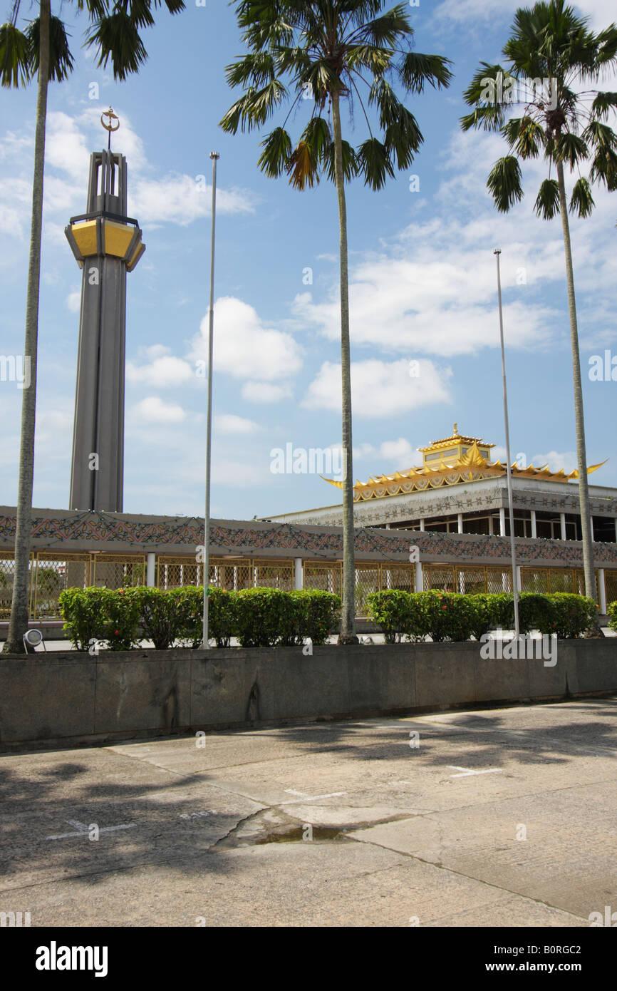 Royal Ceremonial Hall, Bandar Seri Begawan, Brunei Feb 2008 - Stock Image
