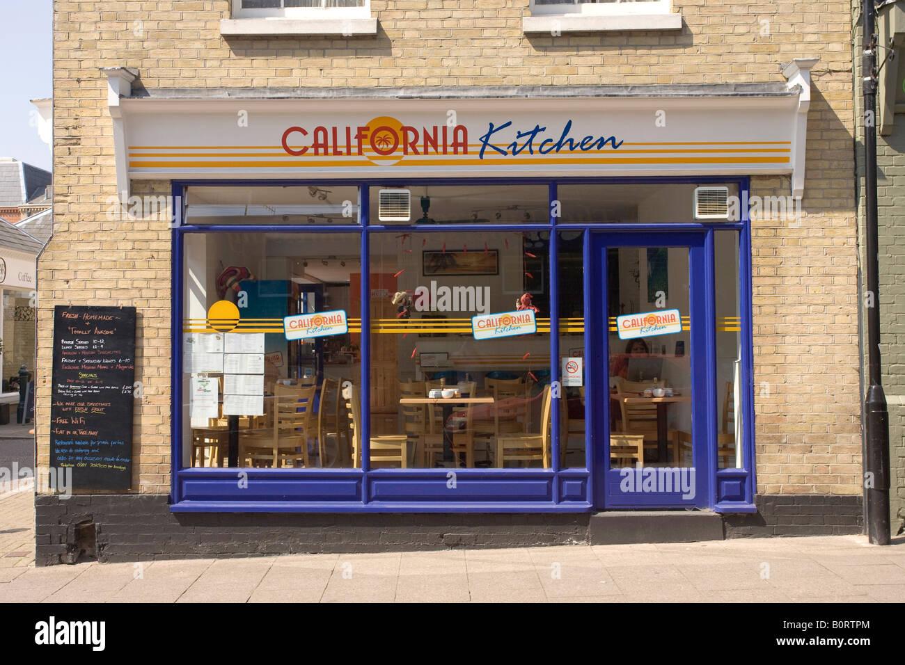 California Kitchen, Californian style restaurant in Bury St Edmunds ...