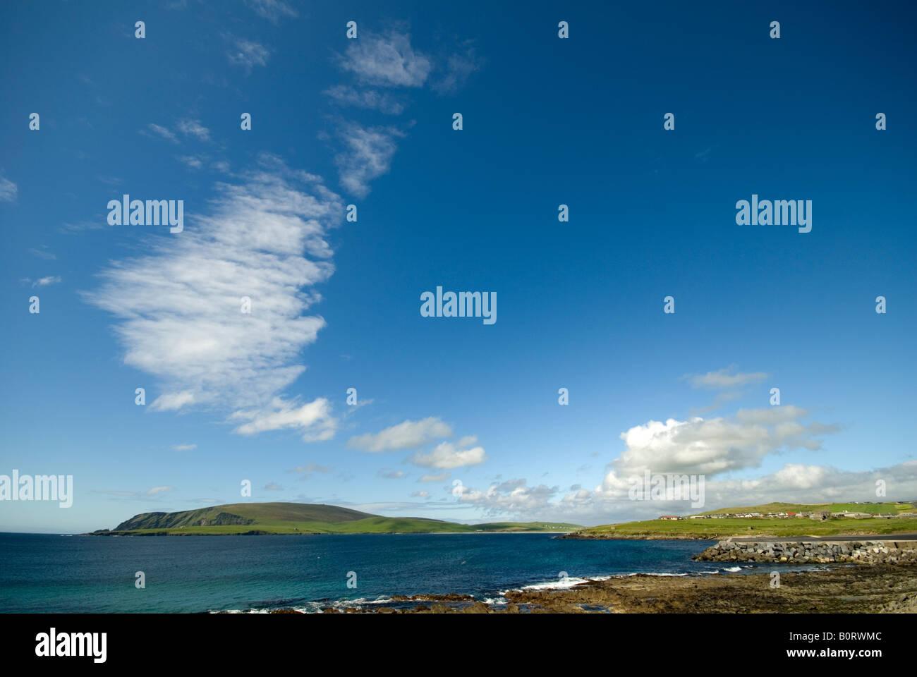 Fitful Head, near Sumburgh, Shetland Islands, Scotland, UK Stock Photo