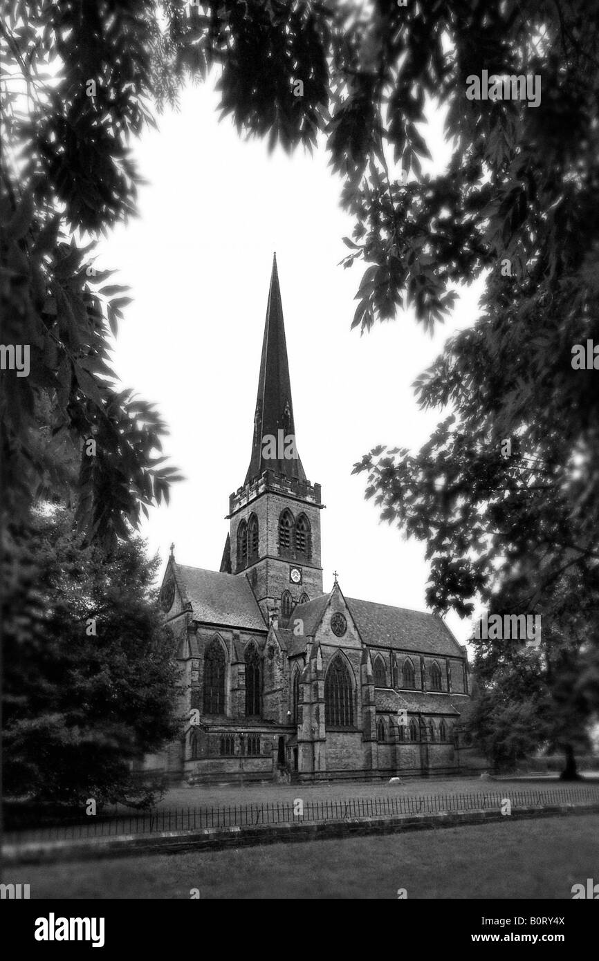 Holy Trinity Church, Wentworth, Rotherham. - Stock Image