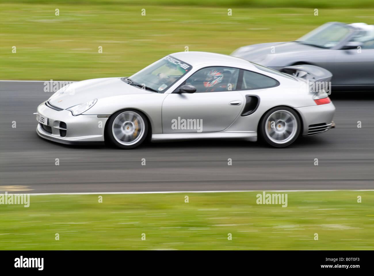 Porsche 911 996 Turbo Fast Car Super Track Day Trackday Circuit Road