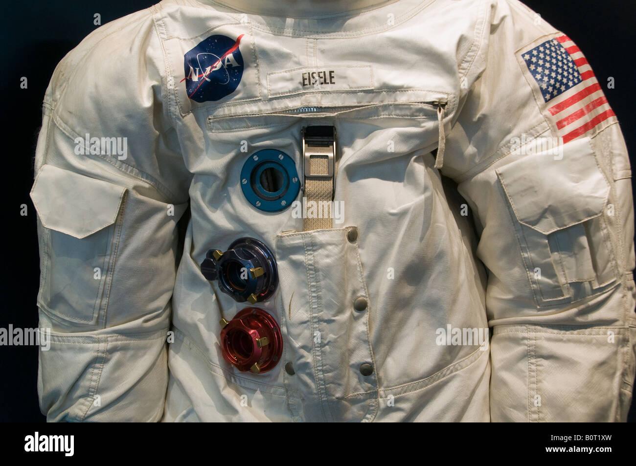 NASA astronaut spacesuit - Stock Image