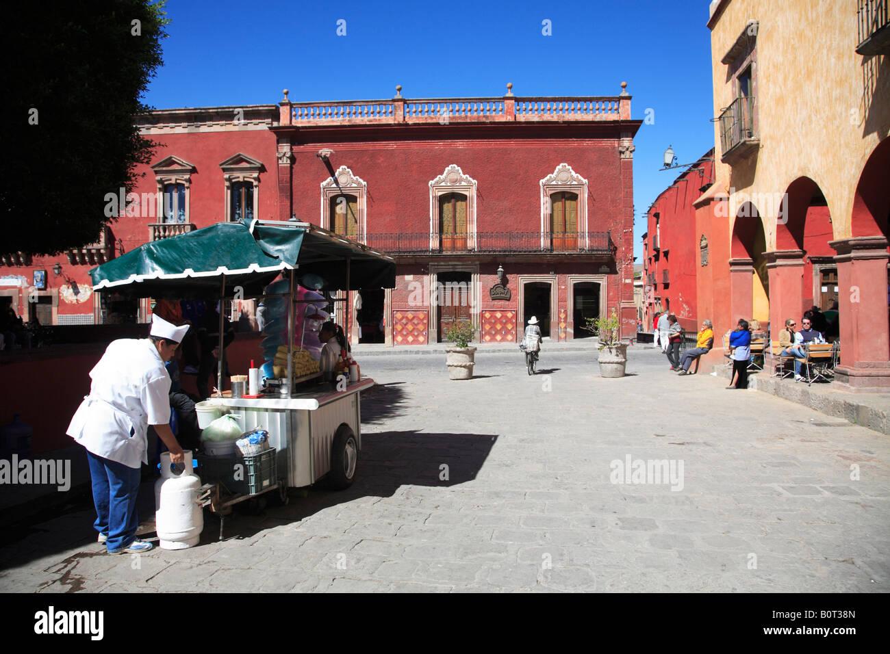 Jardin Principal San Miguel de Allende s main square Mexico - Stock Image