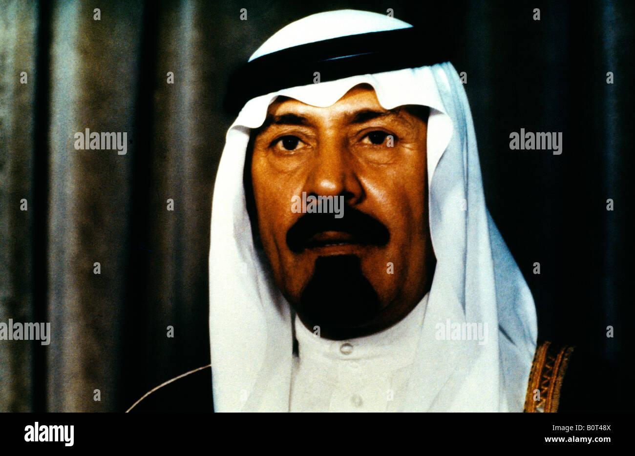HRH Crown Prince Abdullah Ibn Abdul Aziz Saudi Arabia - Stock Image