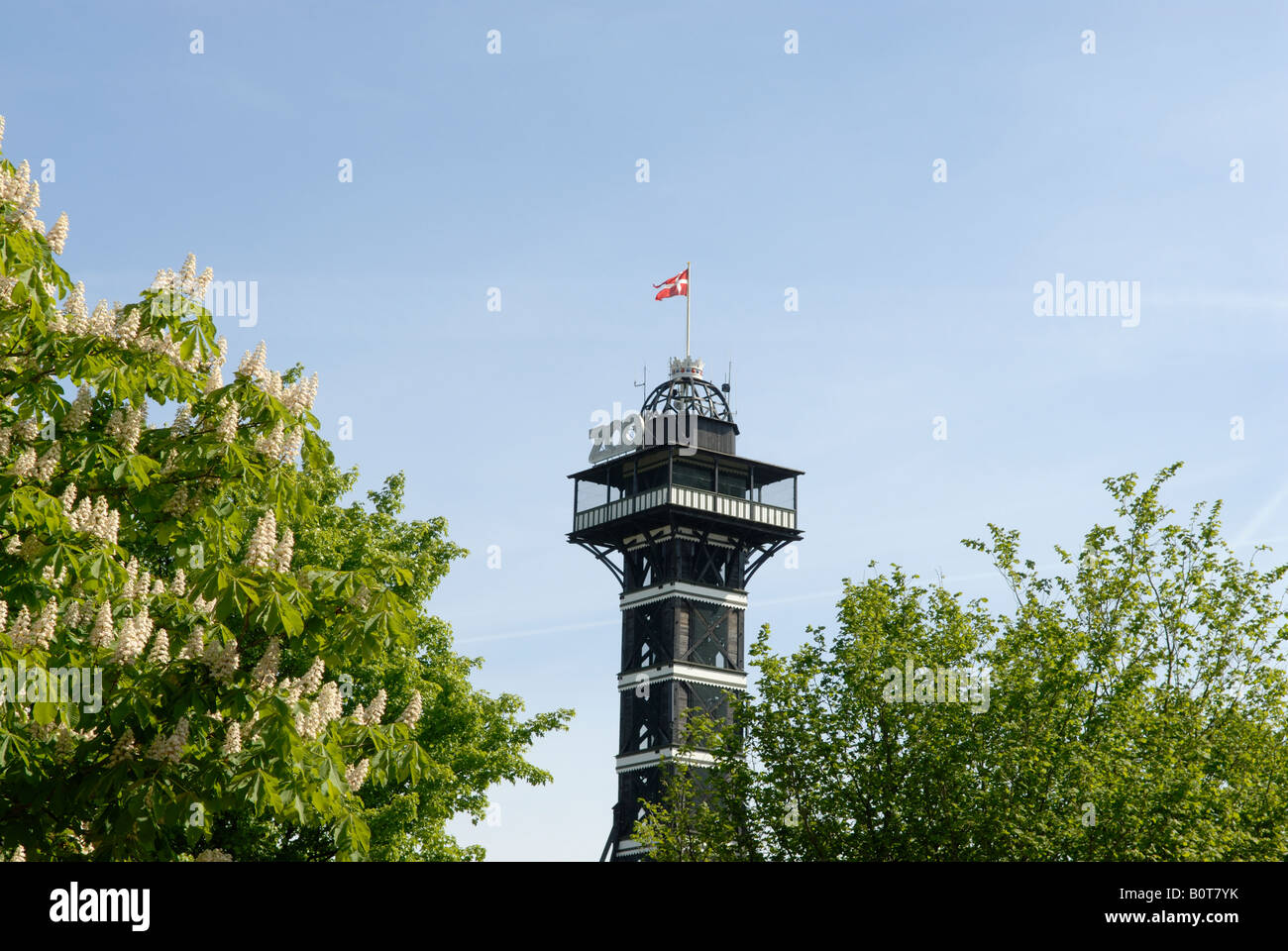 ZOO TOWER - Stock Image