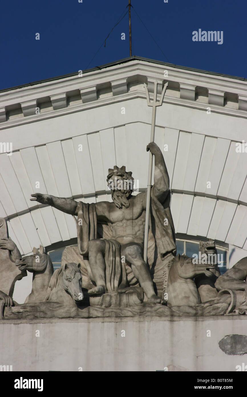 The Old Stock Exchange, Saint Petersburg, Russia Stock Photo