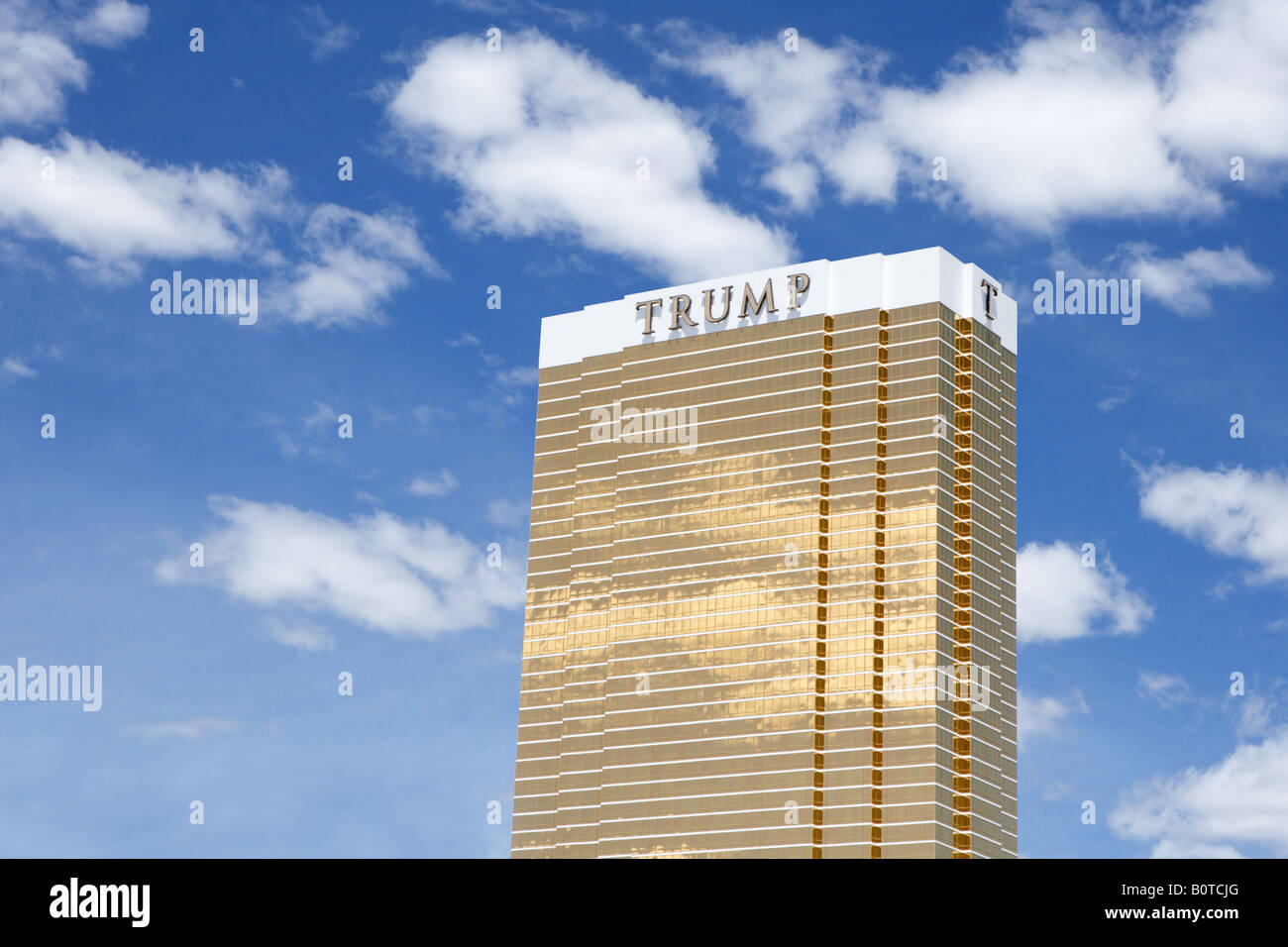 Trump Tower in Las Vegas Nevada USA Stock Photo