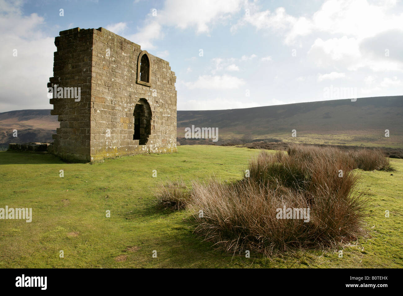 Skelton Tower, North Yorkshire Moors, Great Britain. - Stock Image
