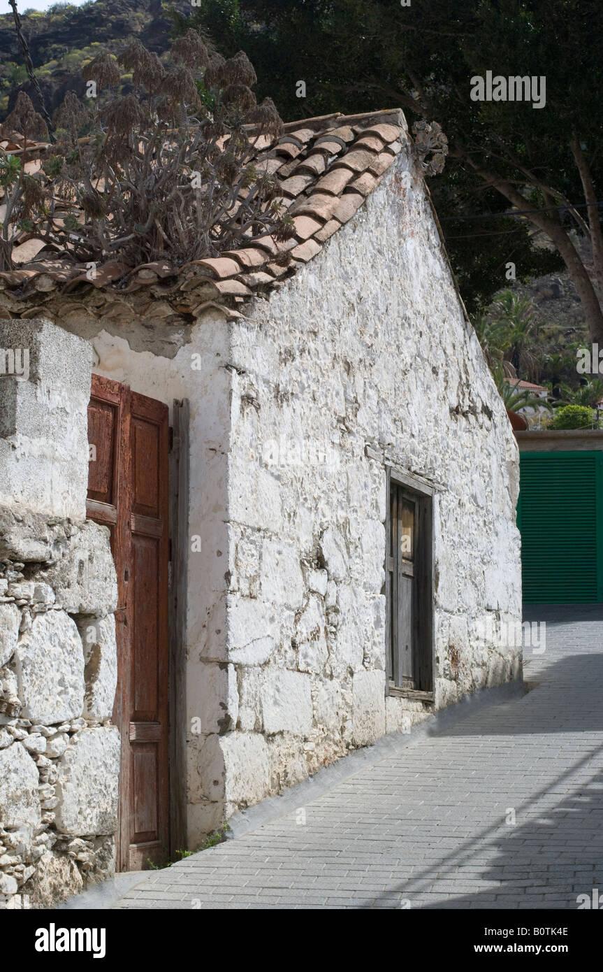 White House Casa Blanca Fataga Gran Canaria Stock Photo 17752238