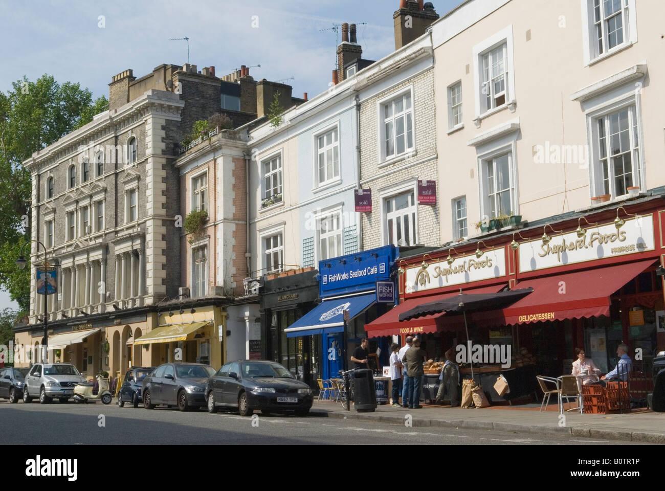 Restaurants In London Primrose Hill