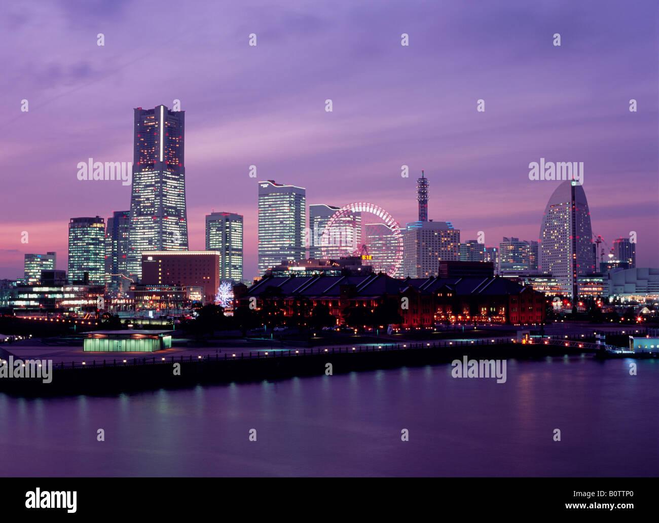 Cityscape, Yokohama, Japan - Stock Image