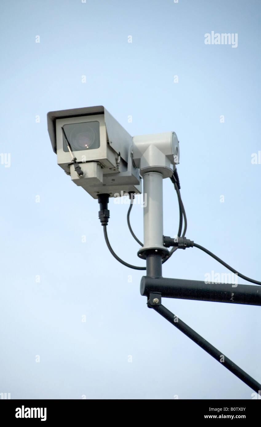 CCTV Camera Highbury London England UK - Stock Image